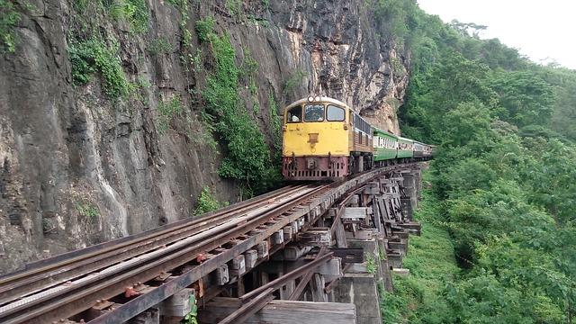 ทางรถไฟสายมรณะ ถ้ำกระแซ กาญจนบุรี